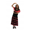 Robe flamenco-espagnole