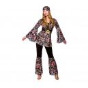 Hippie Noir fleuri