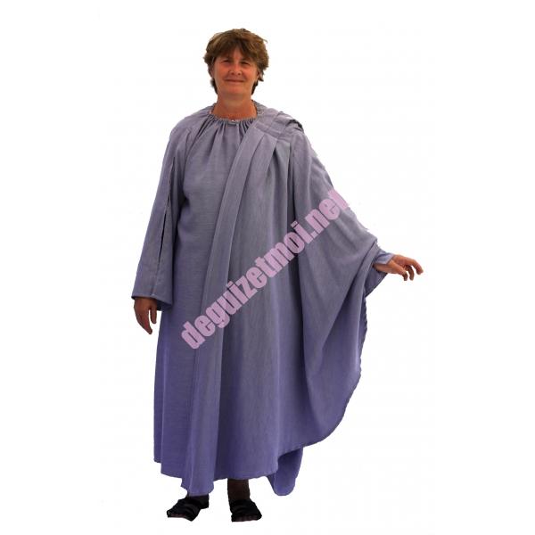 costume et d guisements en location toge romaine bleue donnezac en haute gironde. Black Bedroom Furniture Sets. Home Design Ideas