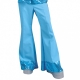 Pantalon disco bleu