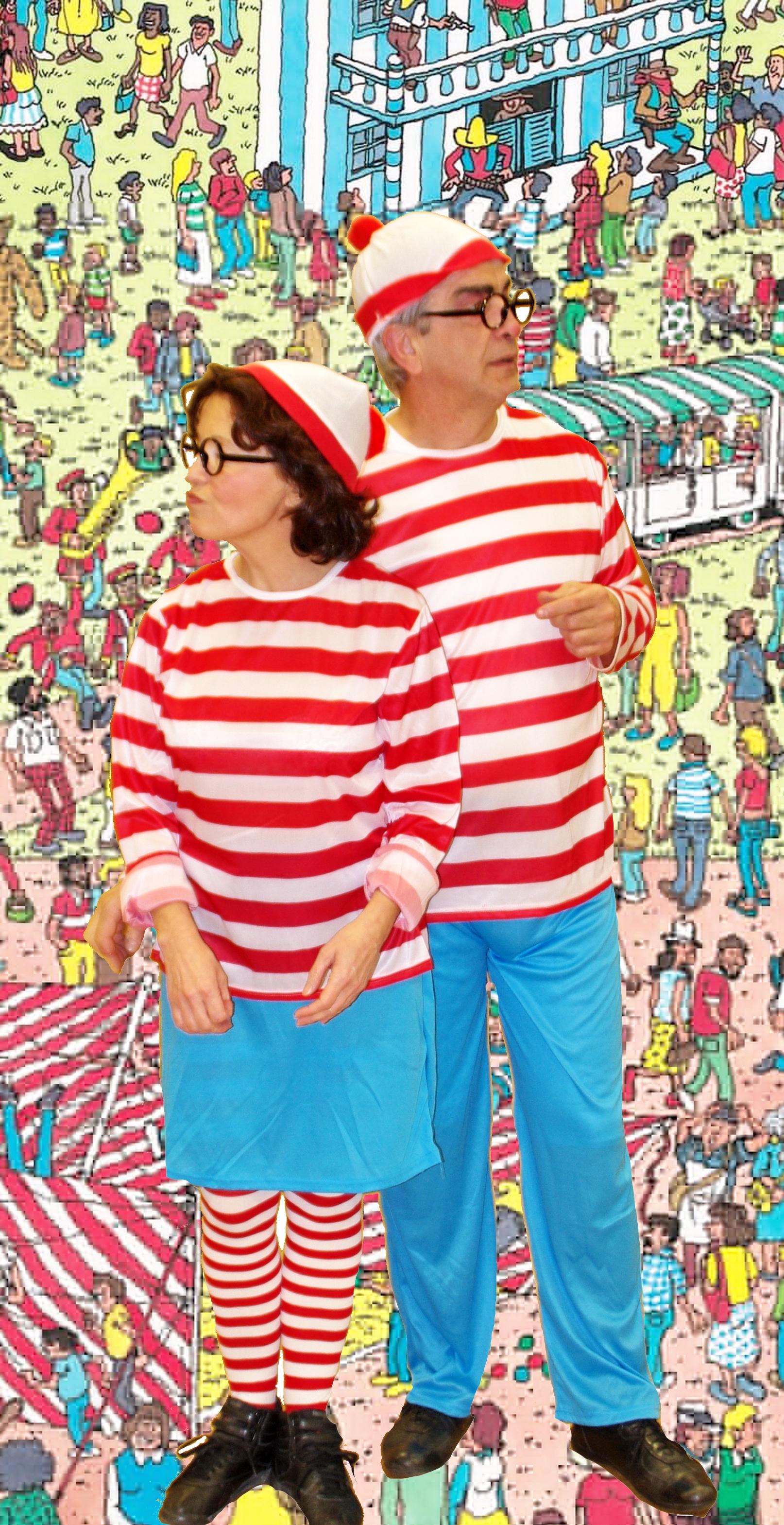 Où est Charlie - déguisement homme et femme